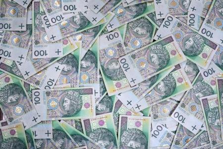 Polish 100 zloty banknotes Stock Photo - 10414694