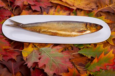 Fish smoked photo
