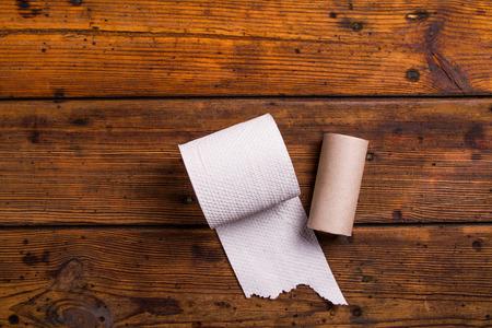 toilete: Papel higi�nico