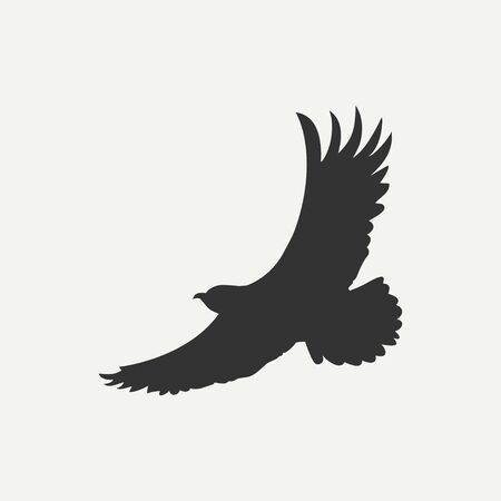 Eagle icon.Bird of predator. Vector illustration. Banque d'images - 129415119