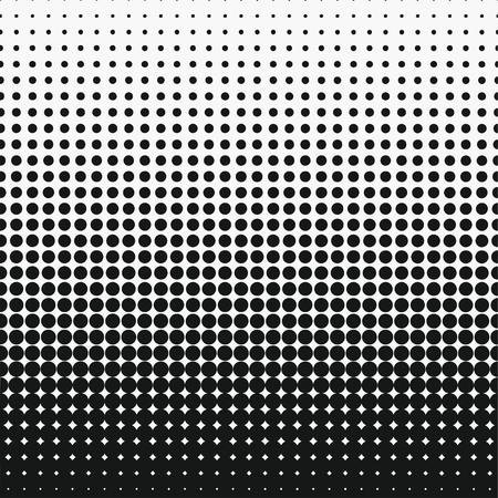Dot halftone effect. Circle monochrome abstract semitone element. Vector illustration. Иллюстрация