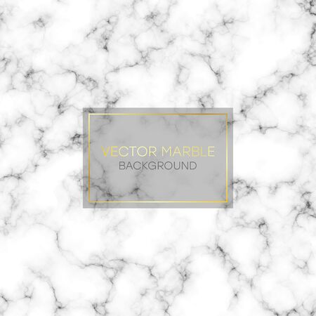 Marble texture. Abstract marbling pattern. Black and white marble background. Vector illustration.