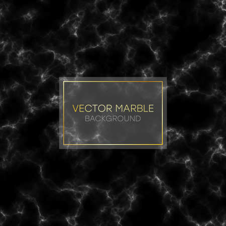 Marble texture. Abstract marbling pattern. Black marble background. Vector illustration. 일러스트