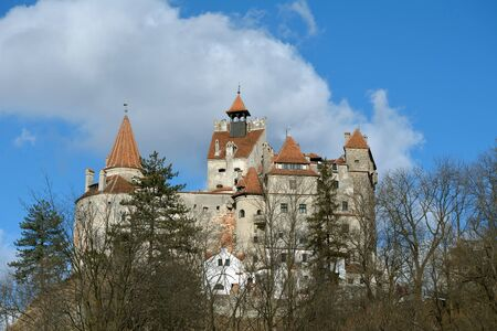 impeller: View of Bran Castle (also know as Draculas Castle)