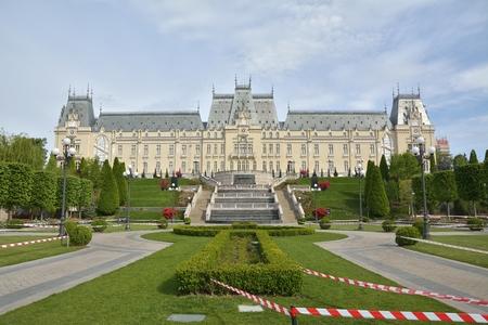 Bellissimo palazzo nella città di Iasi, Romania Archivio Fotografico - 69576462