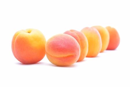 apricots: Ripe apricots