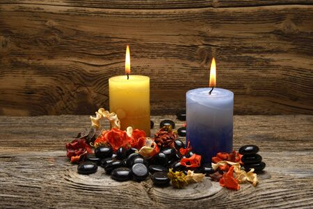 candles and potpourri.