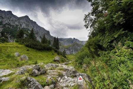 ブチェジ山脈、ルーマニア