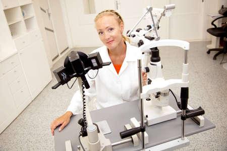 medical attendance: Female medical professional