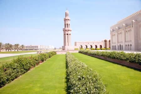 muscat: Muscat, Oman, Sultan Qaboos  Grand Mosque Stock Photo