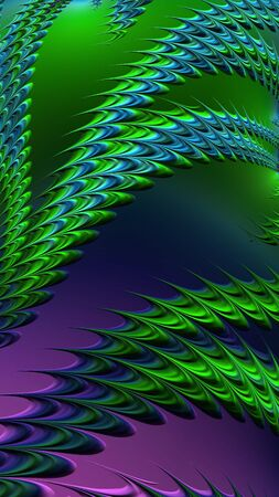 Purple green blue pattern textured abstraction