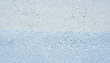 Closeup abstract of dark two toned blue stucco wall-great copy space or background Stock fotó
