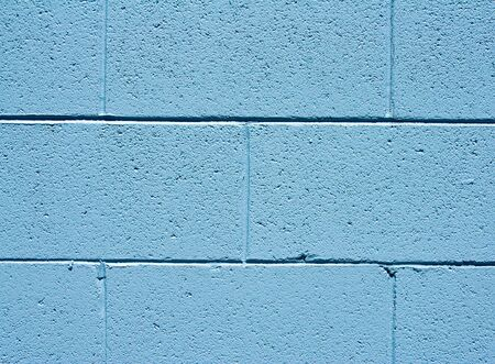 sone: Closeup abstract of blue stucco brick wall