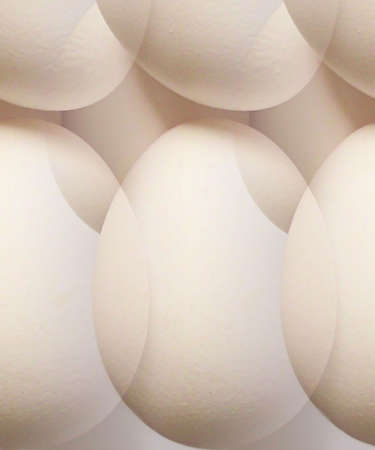poach: Egg Abstract Stock Photo