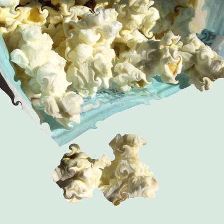 Fresh Popcorn Abstract Reklamní fotografie