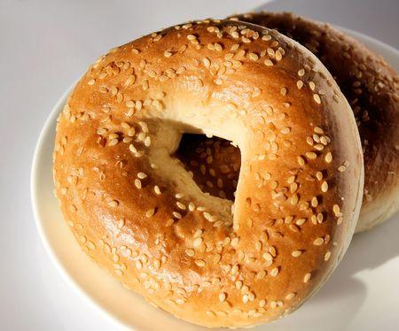 Morning Breakfast Bagel
