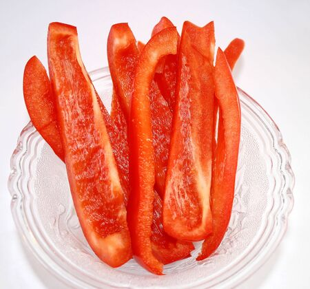 Sweet Red Pepper Slices