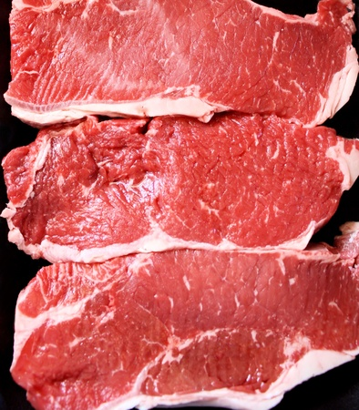 Sirloin Steaks - Ready for Grilling Stock Photo - 9465650