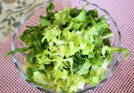 Fresh Crisp Lettuce Salad