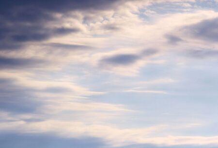 cirrus: Beautiful Sky  Stock Photo