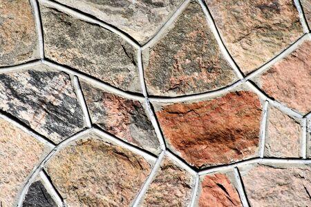 Concrete Wall - Mosaic Pattern