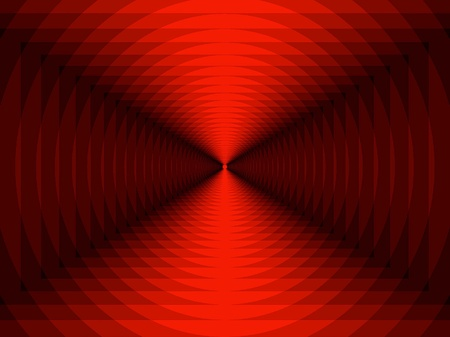 different shapes: Abstract Background - Shades Of Red