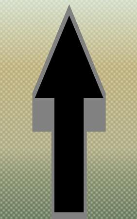 Flèche se dirigeant - texturé Backgroundi Banque d'images - 11070104