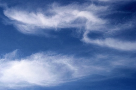 cloud formation: Cirrus Clouds Stock Photo