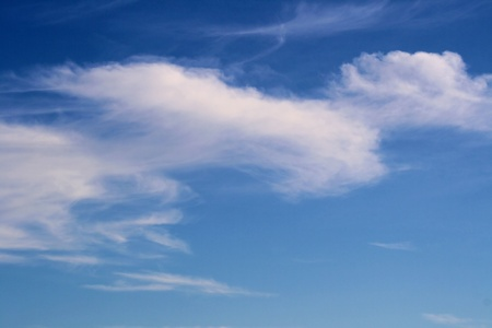 cirrus: Cirrus Clouds Stock Photo