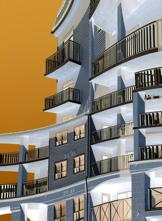 condominium complex: Condominium - abstract