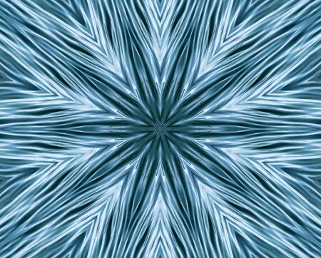 shaped: Abstract Pattern - vibrant lines forming star shaped pattern Stock Photo