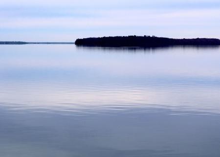 Beautiful Calm Blue Lake Stock Photo - 13323577