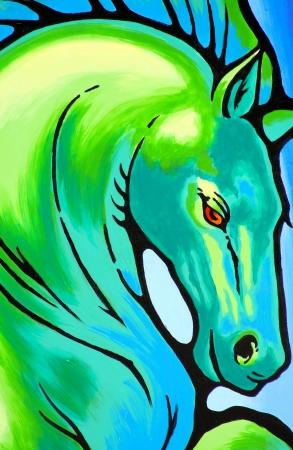 Beautiful Horse Painting