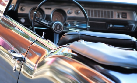 Car Interior - Classic Convertible photo