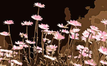 花のフィールドを抽象化します。