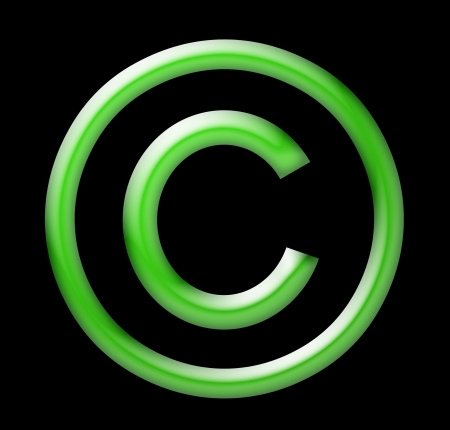 Copyright Symbol Stock Photo - 20016163