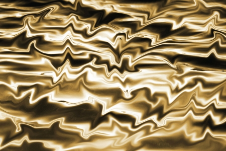 Melted Gold - abstract background  Imagens