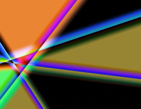 prisma: Prismas de Color Foto de archivo