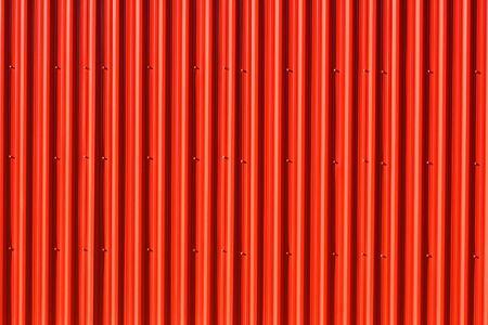 metal sheet: Vibrant red Aluminum Siding  vertical