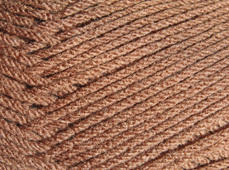 strands: Close up of strands of yarn Stock Photo