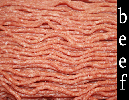 Lean ground beef fresh from the Butcher