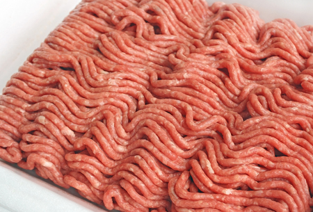 Close up of Lean ground beef
