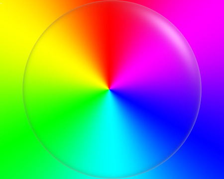 Abstract background in rainbow colors Imagens
