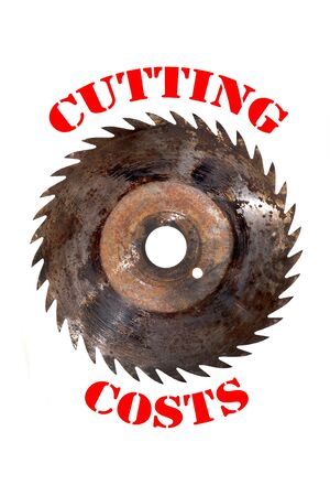 cutting: cutting costs Stock Photo