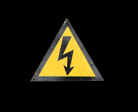 high voltage sign: high voltage sign vintage