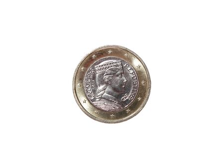 1: new 1 euro