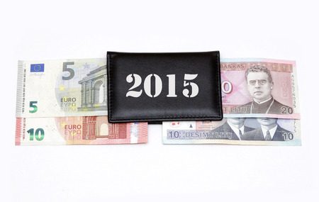 european exchange: litas lits changeover euro exchange 2015 lithuania coins banknotes january