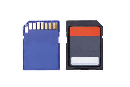 micro sd  memory for camera computer microdrive compact flash isolated photo