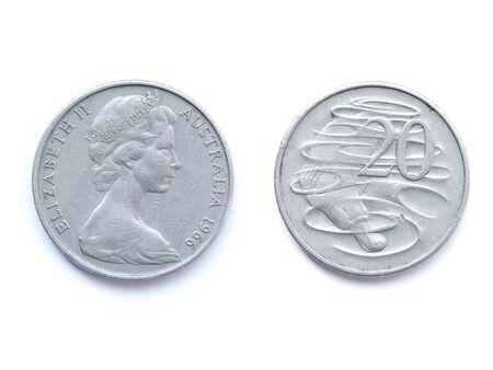 cents: twenty Australian cents