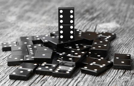 valuable: last man standing one vintage most valuable domino leader